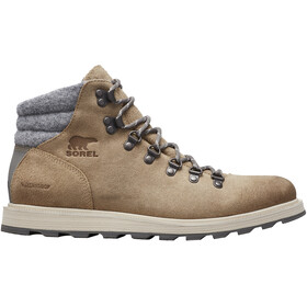 Sorel Madson Hiker Waterproof Sko Herrer, oatmeal/quarry